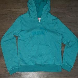 EUC Puma Hooded Sweatshirt